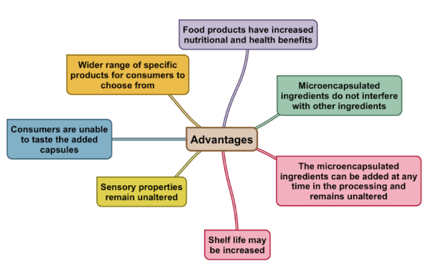 Microencapsulation: Advantages and Disadvantages - Food Product